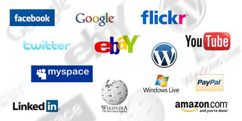социални мрежи и сайтове за безплатни услуги