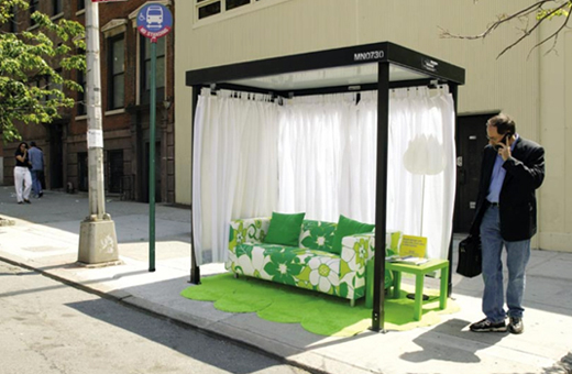 Creative IKEA Bus Stop