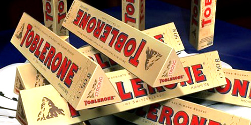 Toblerone Triangle Chockolate