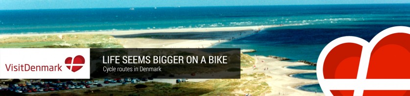 Life seems bigger on a bike