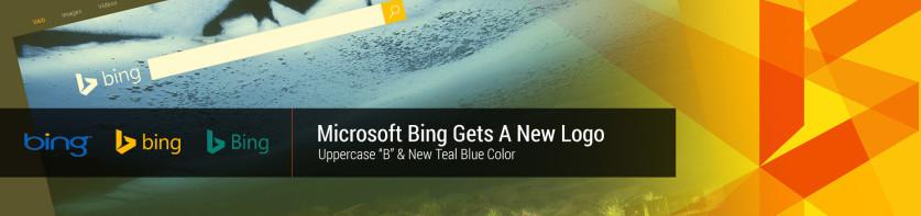 Microsoft Bing has new 2016 logo